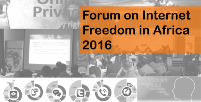 Announcement: Forum on Internet Freedom in Africa 2016