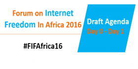 #FIFAfrica16: Agenda - Day 0 to Day 1