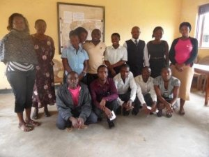 Members of the Kasese Youth and Women Forum
