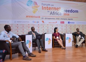 The second panel on Day 1 of the Forum for Internet Freedom Africa 2016 saw iAfrikan Contributor from Tunisia, Yosr Jouini, speak on a panel about Internet Shutdowns & Internet Rights.