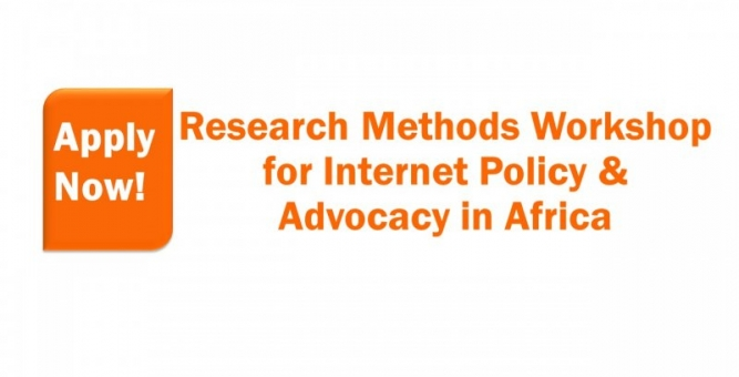 Research Methods Workshop for Internet Policy & Advocacy in Africa