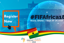 Register for the Forum on Internet Freedom in Africa 2018 (FIFAfrica18)