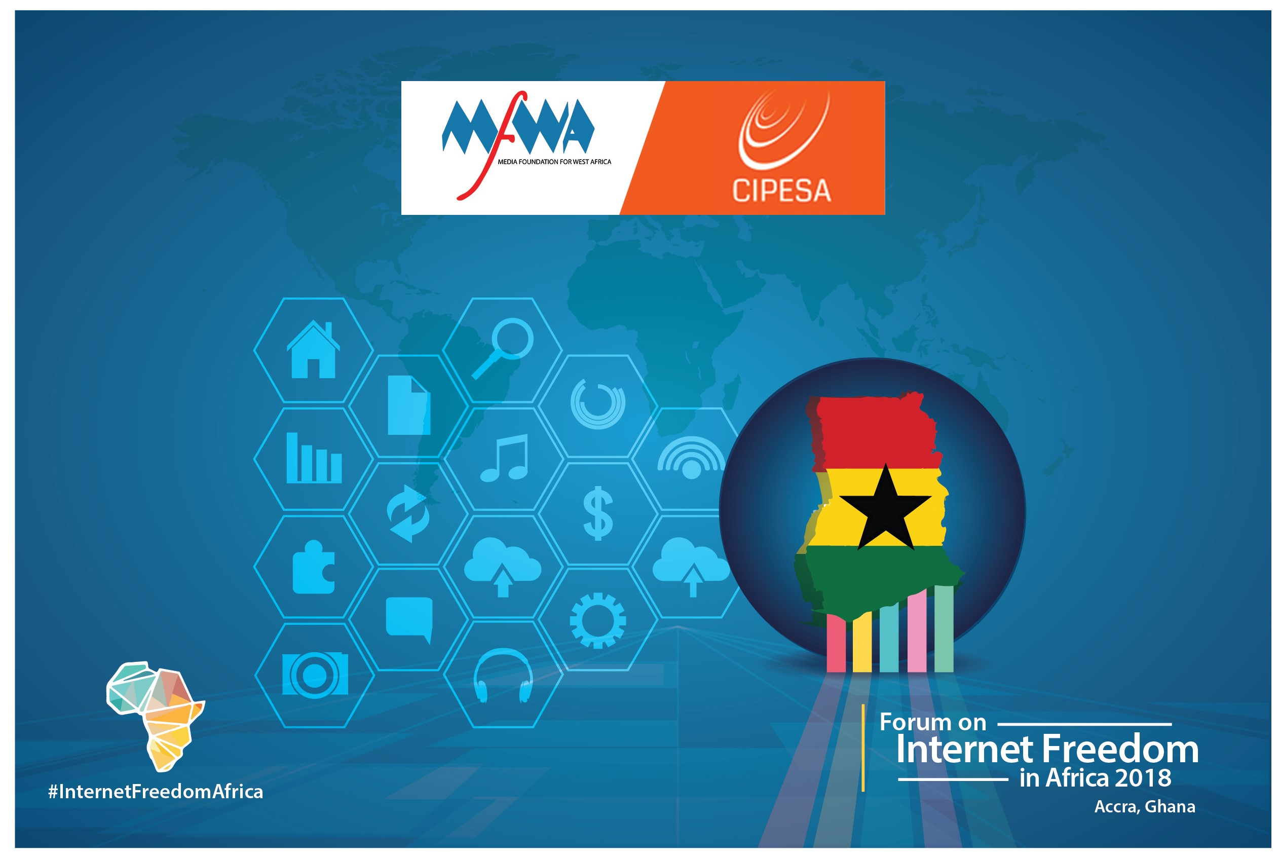MFWA to Co-Host Africa's Biggest Internet Freedom Event