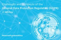 Challenges and Prospects of the General Data Protection Regulation (GDPR) in Africa