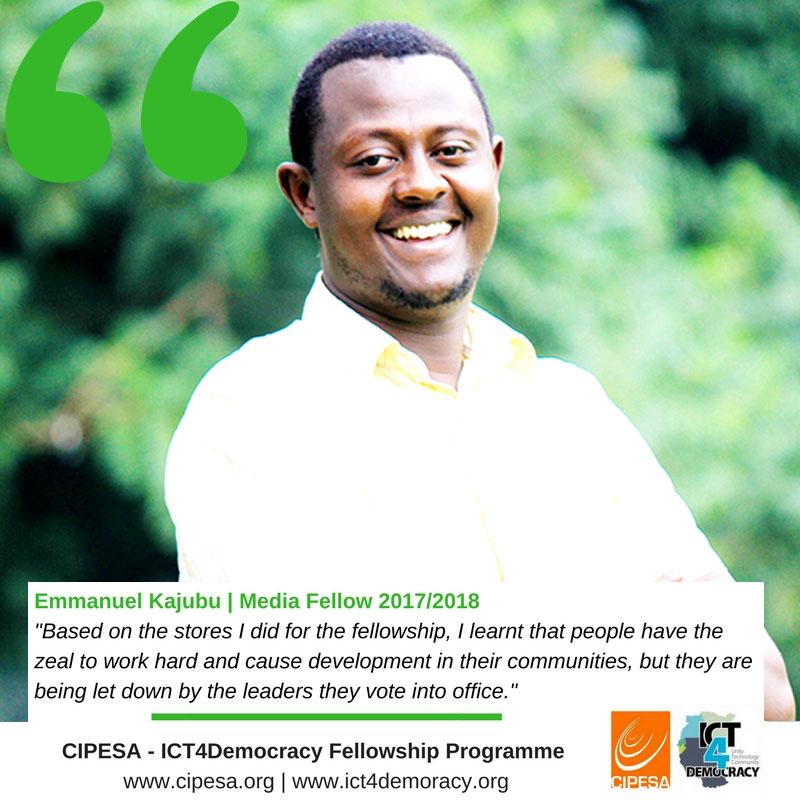 CIPESA-Fellow-Emmanuel-Kajubu