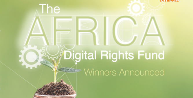 Inaugural Winners of the Africa Digital Rights Fund Announced