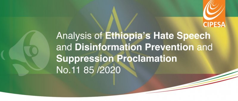 Ethiopia's New Hate Speech and Disinformation Law Weighs Heavily on Social Media Users and Internet Intermediaries
