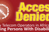 Report Launch: How Telecom Operators in Africa Are Failing Persons With Disabilities