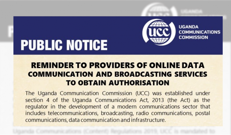 Registration of Online Publishers and Broadcasters Threatens Free Expression in Uganda