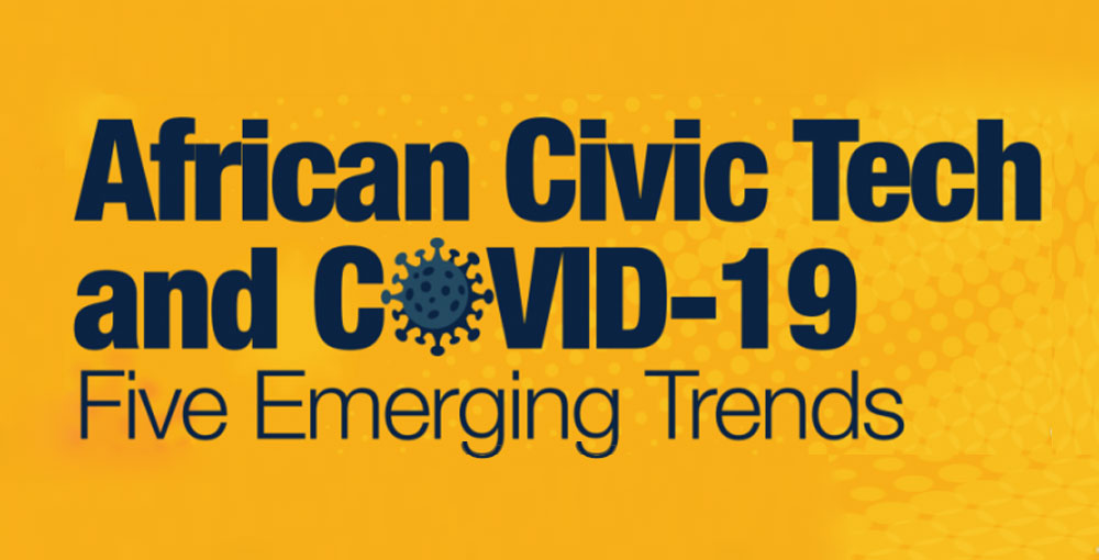 African Civic Tech and COVID-19: Five Emerging Trends