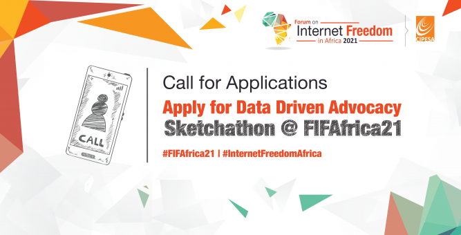 Apply for Data Driven Advocacy Sketchathon at FIFAfrica21